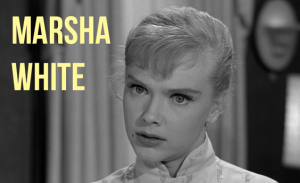 All I can think of when I hear that name Marsha.  Twilight Zone reference!  Bam!