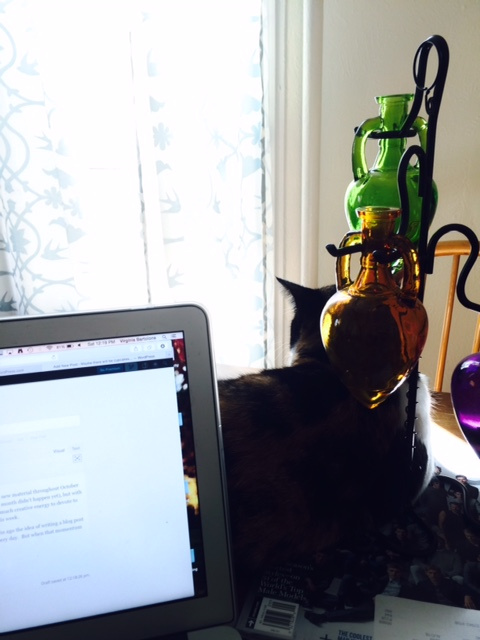 Thank you for being my morning blogging buddy, Viola.